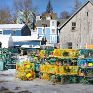 Lunenburg Lobster Traps